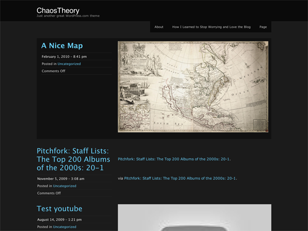 ChaosTheory screenshot
