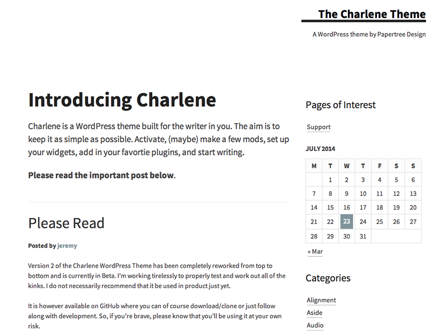 Charlene screenshot