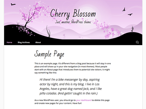 Cherry Blossom screenshot