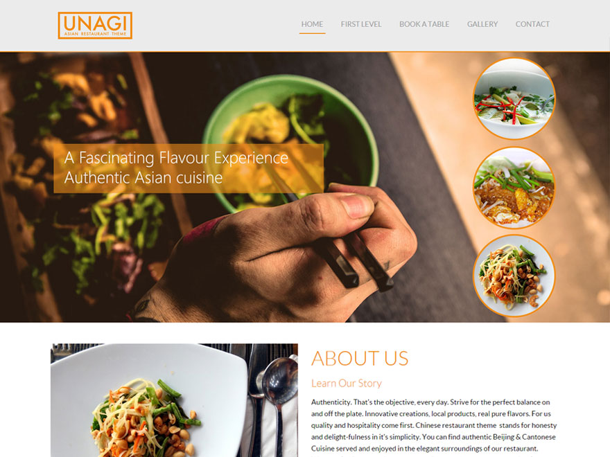 20+ Free Restaurant WordPress Themes 2019 9