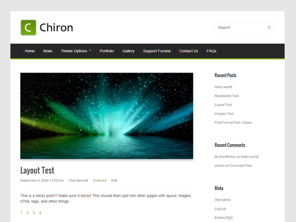 Chiron screenshot