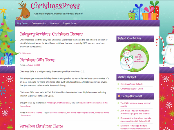 ChristmasPress screenshot