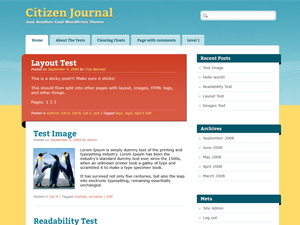 Citizen Journal screenshot
