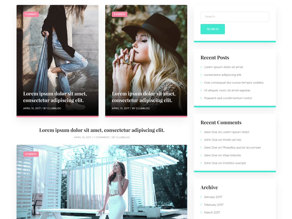 30+ Best Free Fashion WordPress Themes for Blogs [sigma_current_year] 16