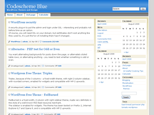 codescheme_blue screenshot