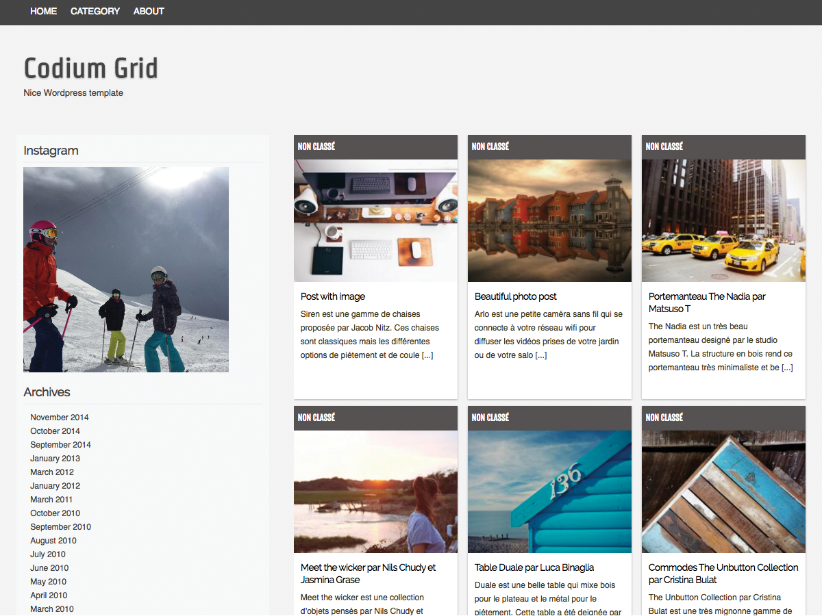 Codium Grid screenshot