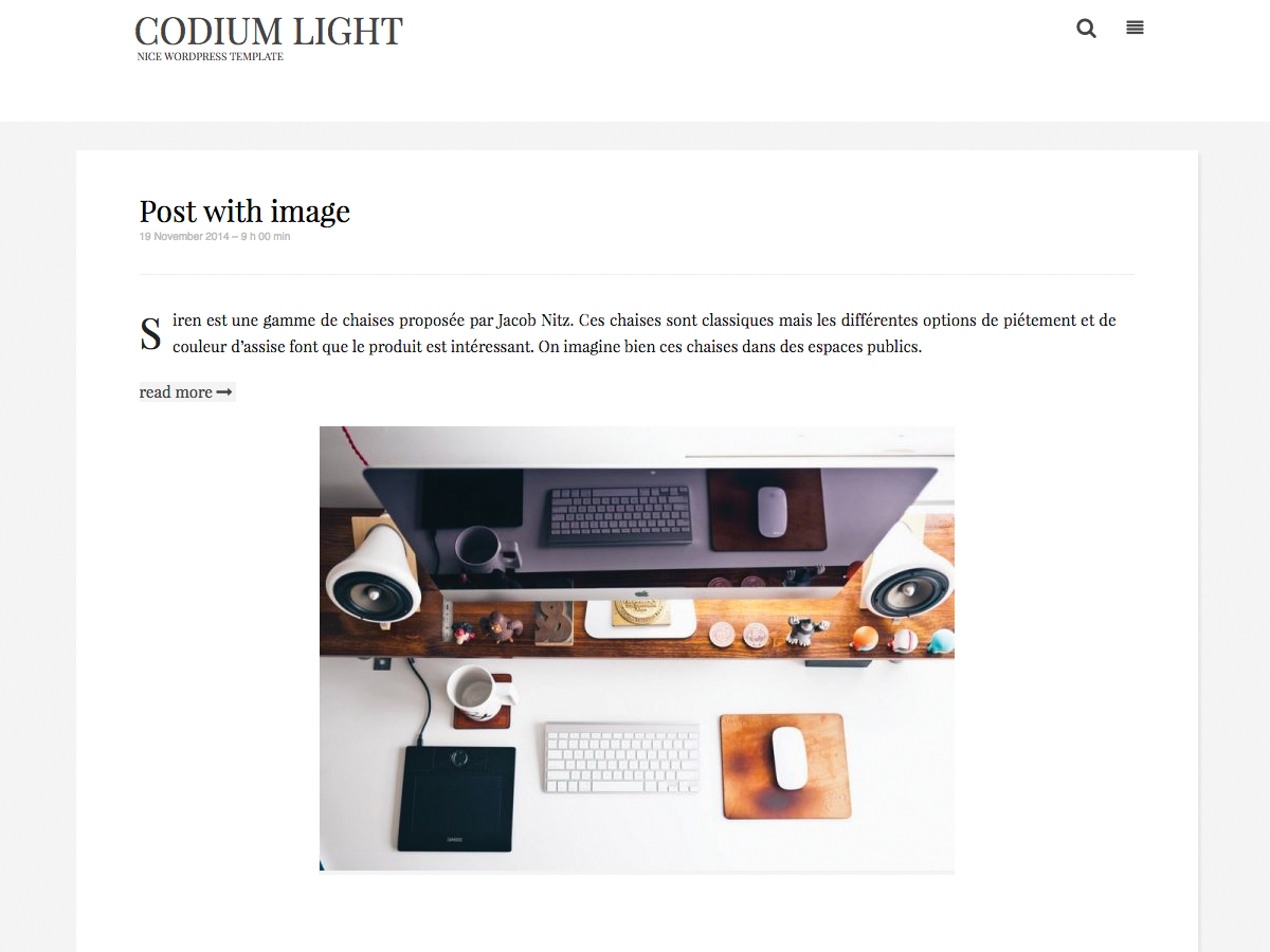 Codium Light screenshot