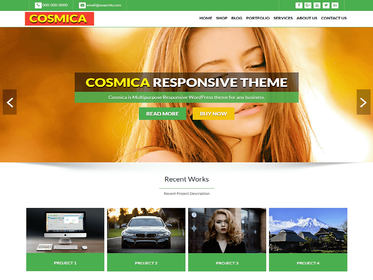 Top 35+ Free Bootstrap WordPress Themes [sigma_current_year] 8