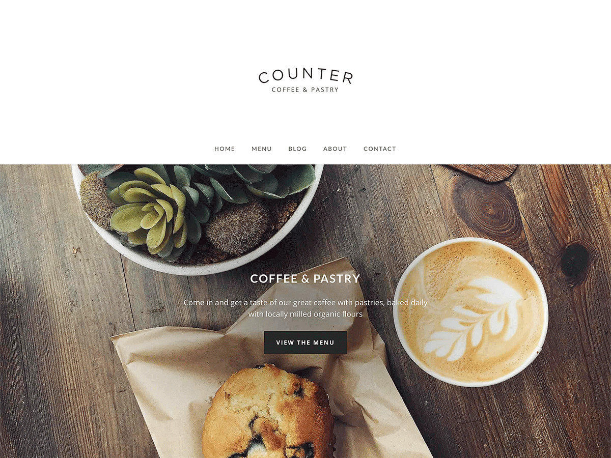 20+ Free Restaurant WordPress Themes 2019 4