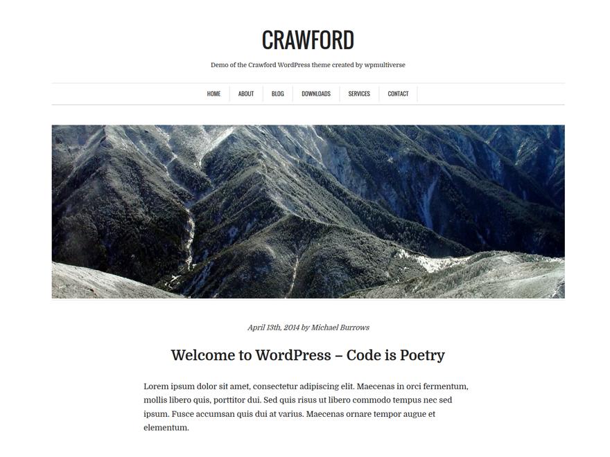 Crawford - tong hop theme thang 9