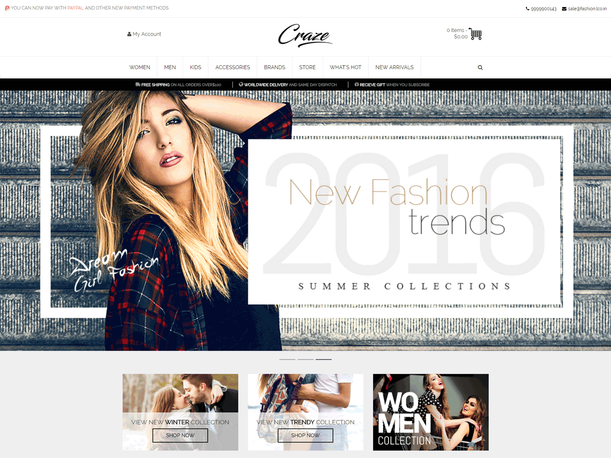 30+ Best Free Fashion WordPress Themes for Blogs [sigma_current_year] 20