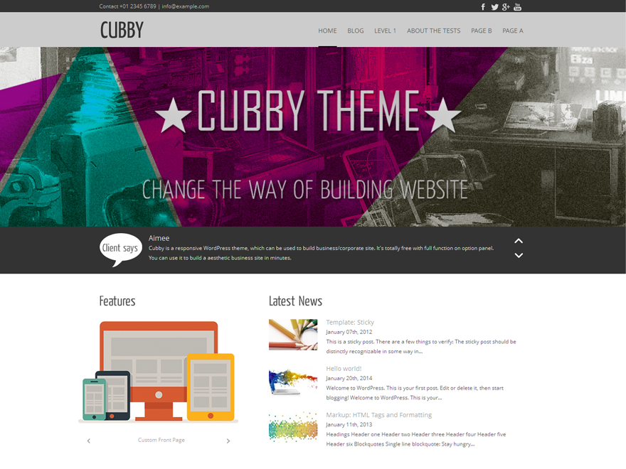 Cubby screenshot
