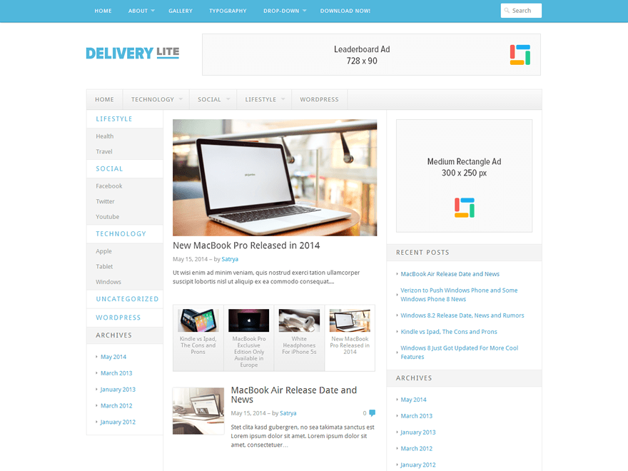 Delivery Lite screenshot