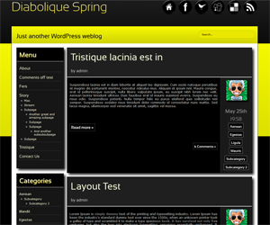 Diabolique Spring screenshot