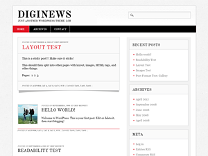 Diginews screenshot