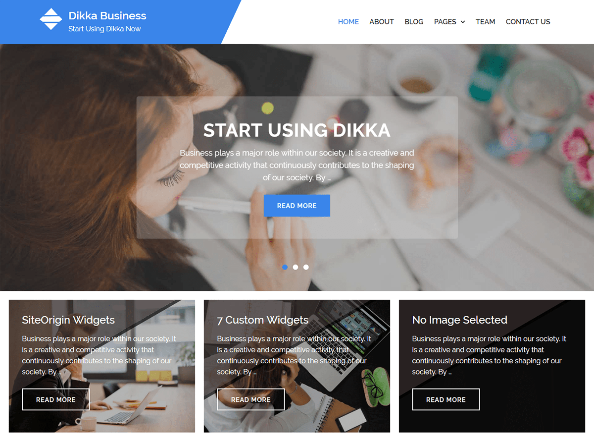 Best free financial wordpress themes 2018 envothemes dikka business accmission Image collections