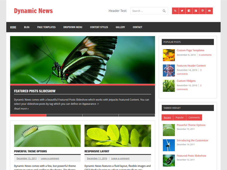 Dynamic News Lite screenshot