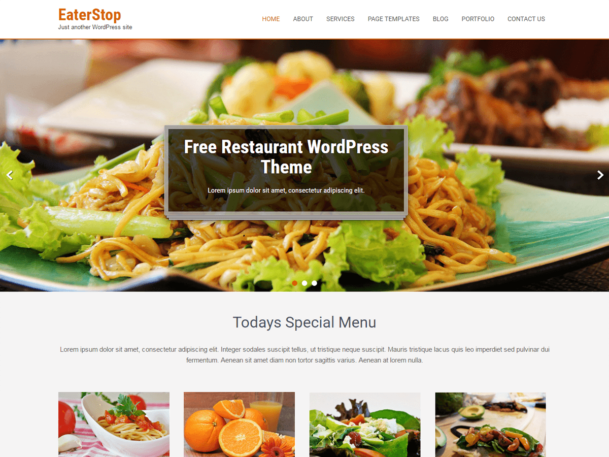 20+ Free Restaurant WordPress Themes 2019 14