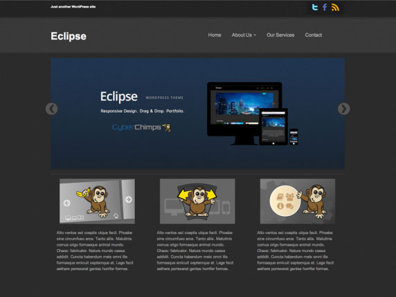 Template wordpress Eclipse