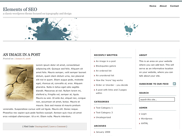 Elements of SEO screenshot