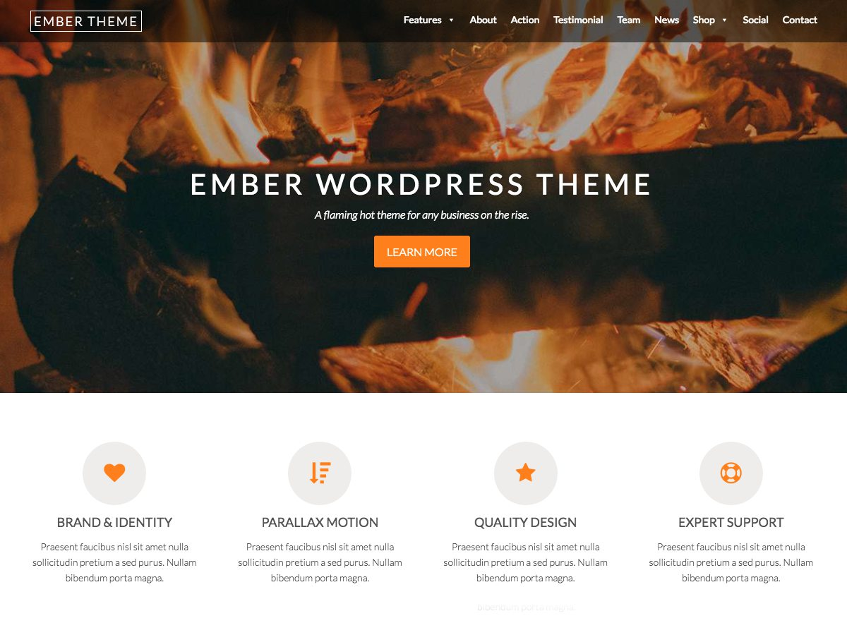 Top 30+ Best Parallax WordPress Themes [sigma_current_year] 13