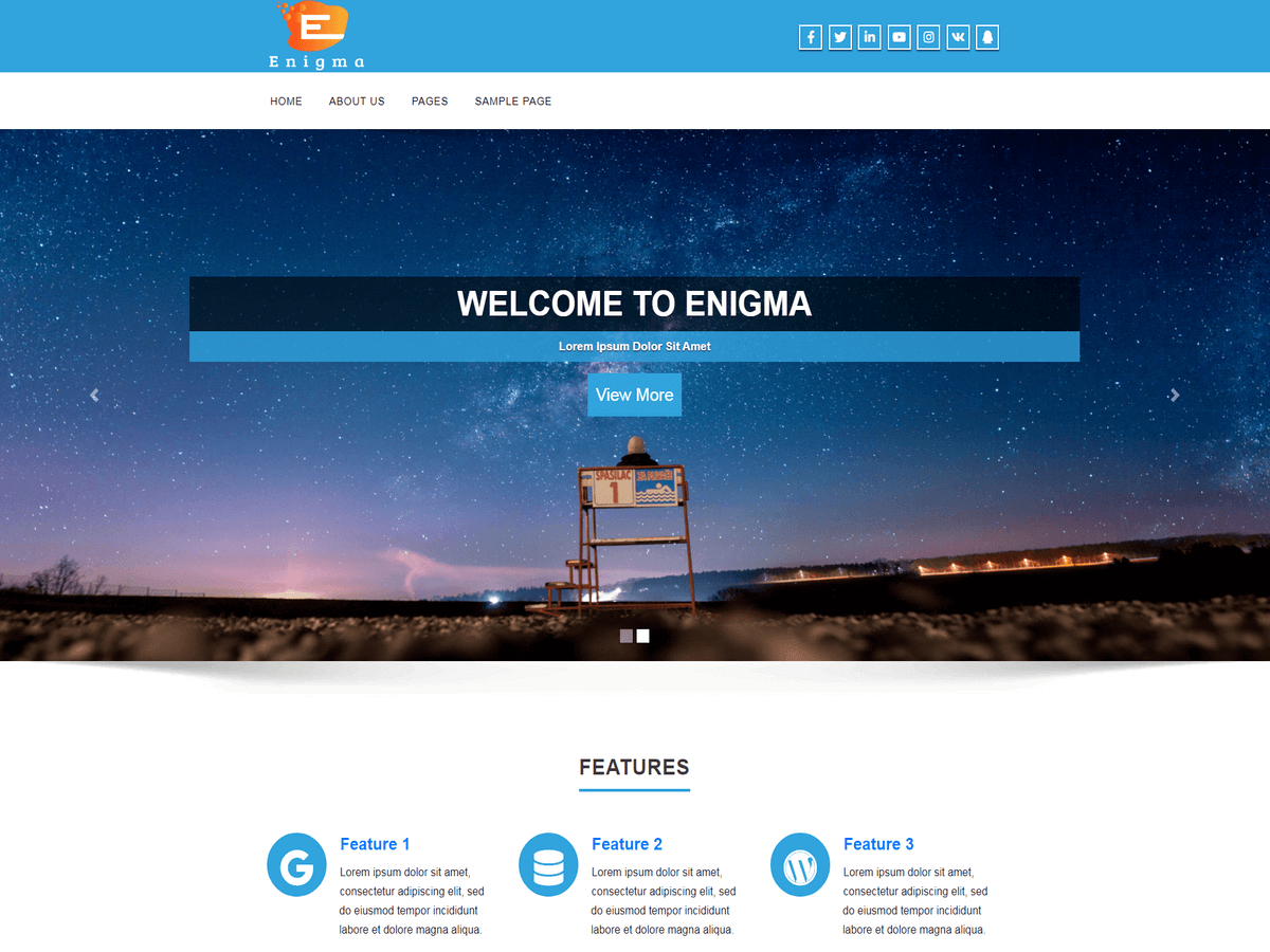 20+ Free and Clean WordPress Themes for Businesses and Blogs [sigma_current_year] 19