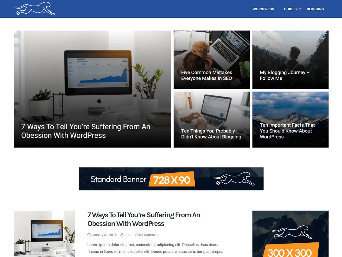 Fastest - Best AdSense Optimized WordPress Themes