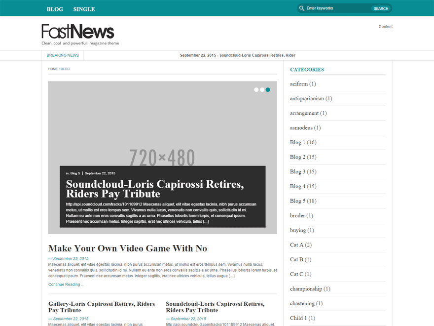 FastNews Light screenshot