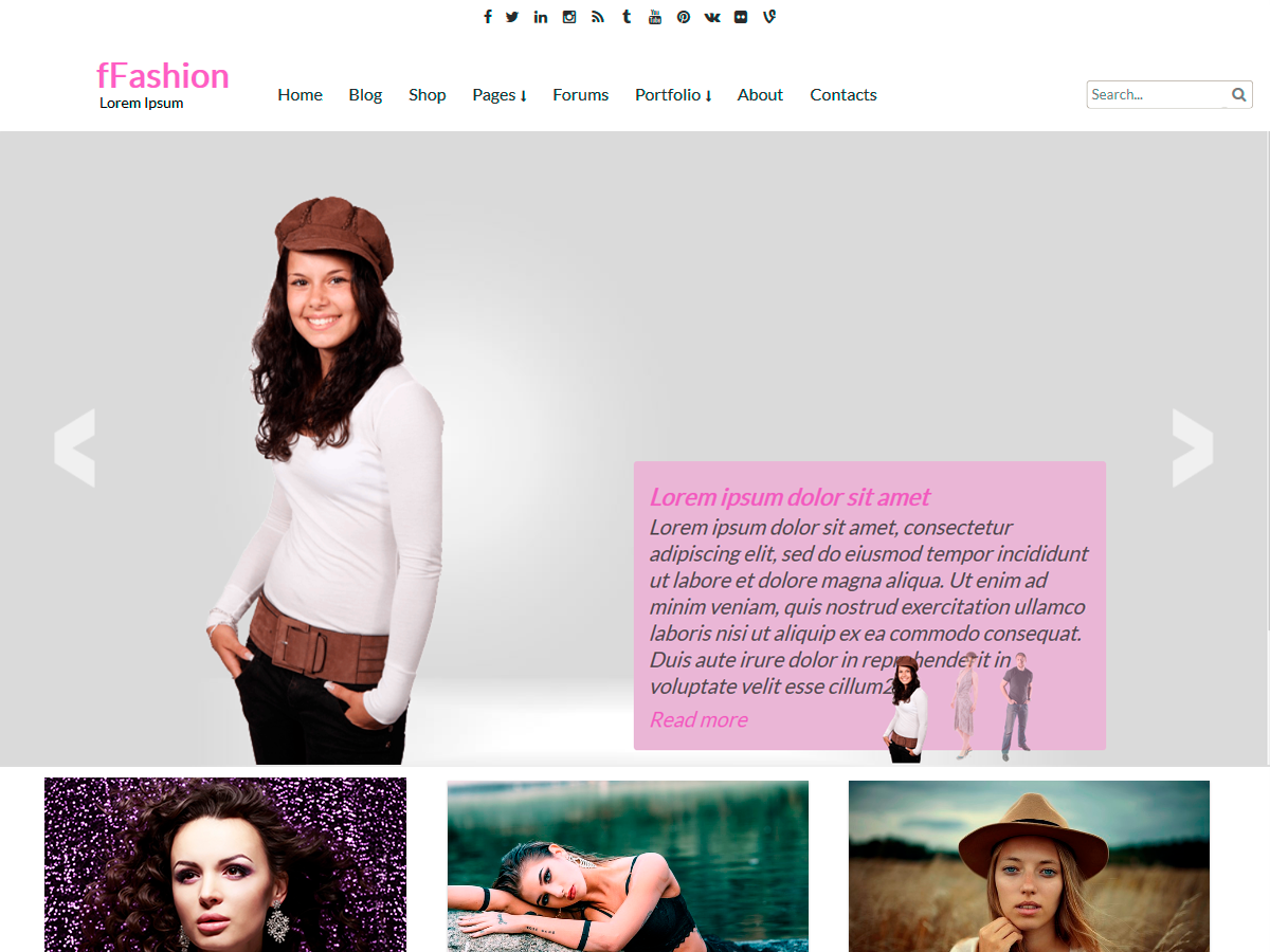 30+ Best Free Fashion WordPress Themes for Blogs [sigma_current_year] 10