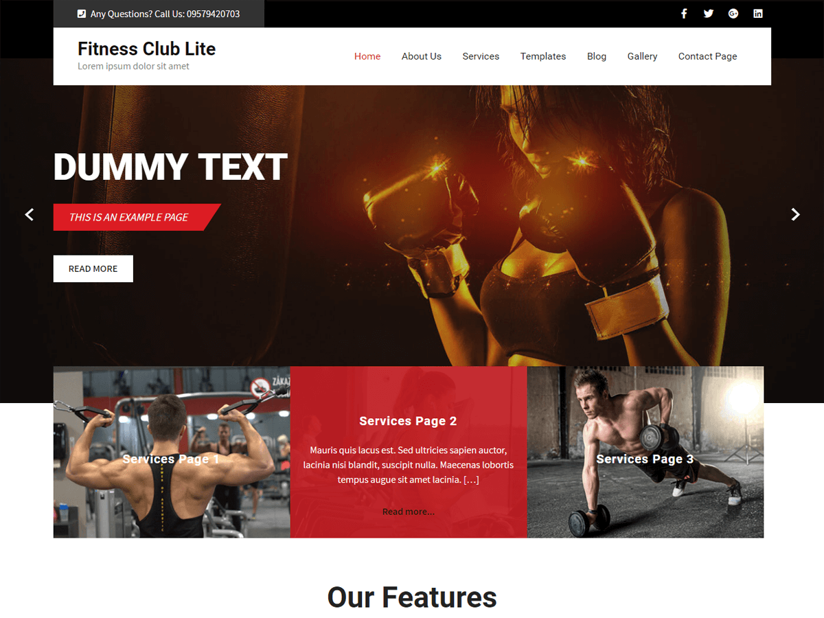 Fitness Club Lite