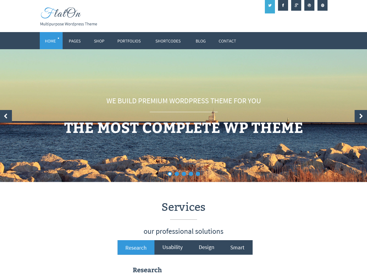 Top 35 Best Free WordPress Themes 2019 11