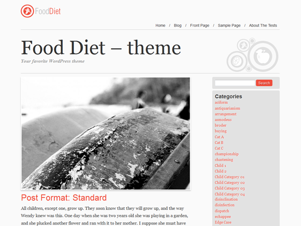 Food and Diet screenshot