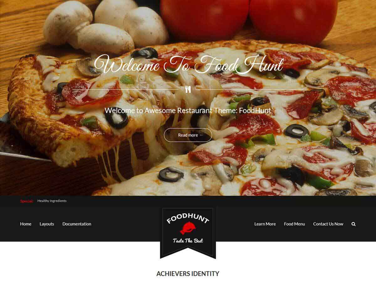 20+ Free Restaurant WordPress Themes 2019 11