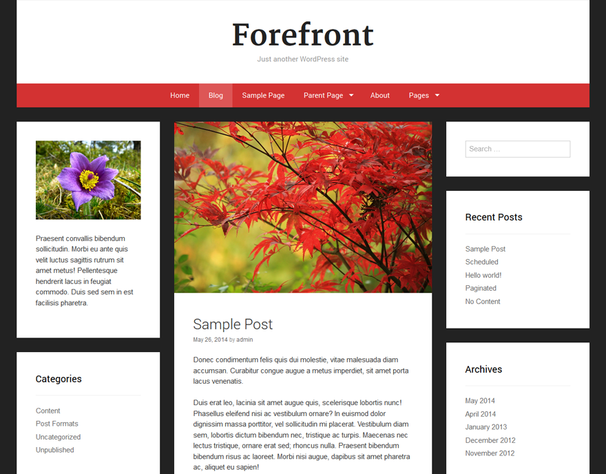 Forefront screenshot
