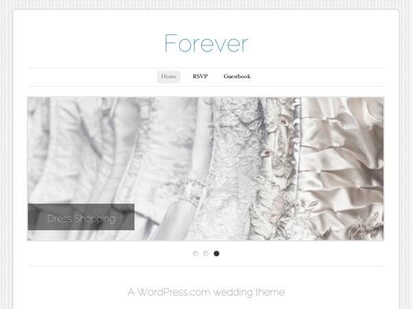 Template wordpress Forever