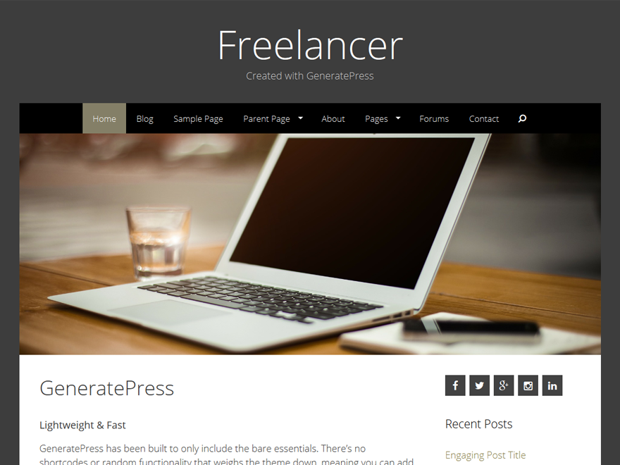 Freelancer screenshot