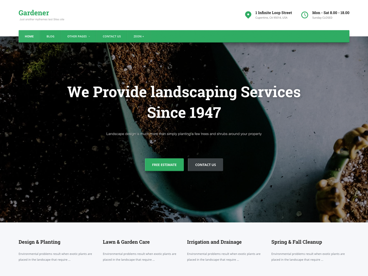 Top 35+ Free Bootstrap WordPress Themes [sigma_current_year] 4