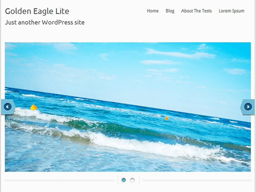 Template wordpress Golden Eagle