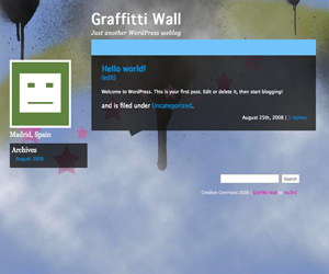 Graffitti Wall screenshot
