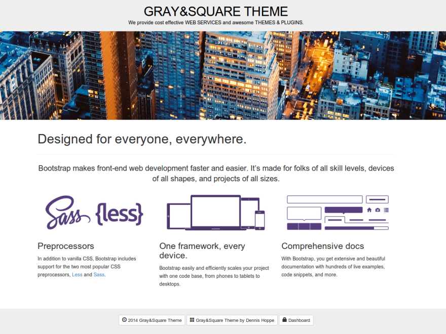 Gray and Square screenshot