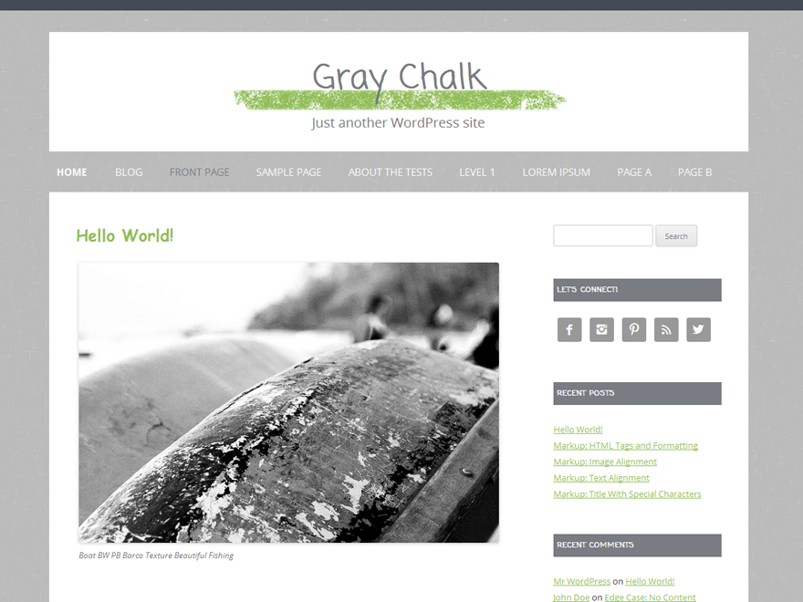 Gray Chalk screenshot