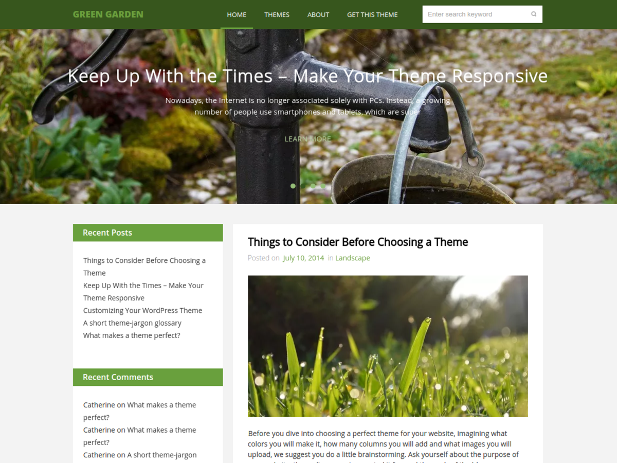 17+ Best Free Nature Inspired WordPress Themes [sigma_current_year] 11