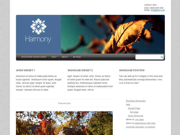 Harmony 2.0 screenshot