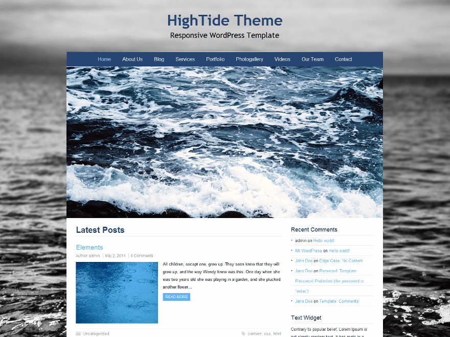 HighTide screenshot