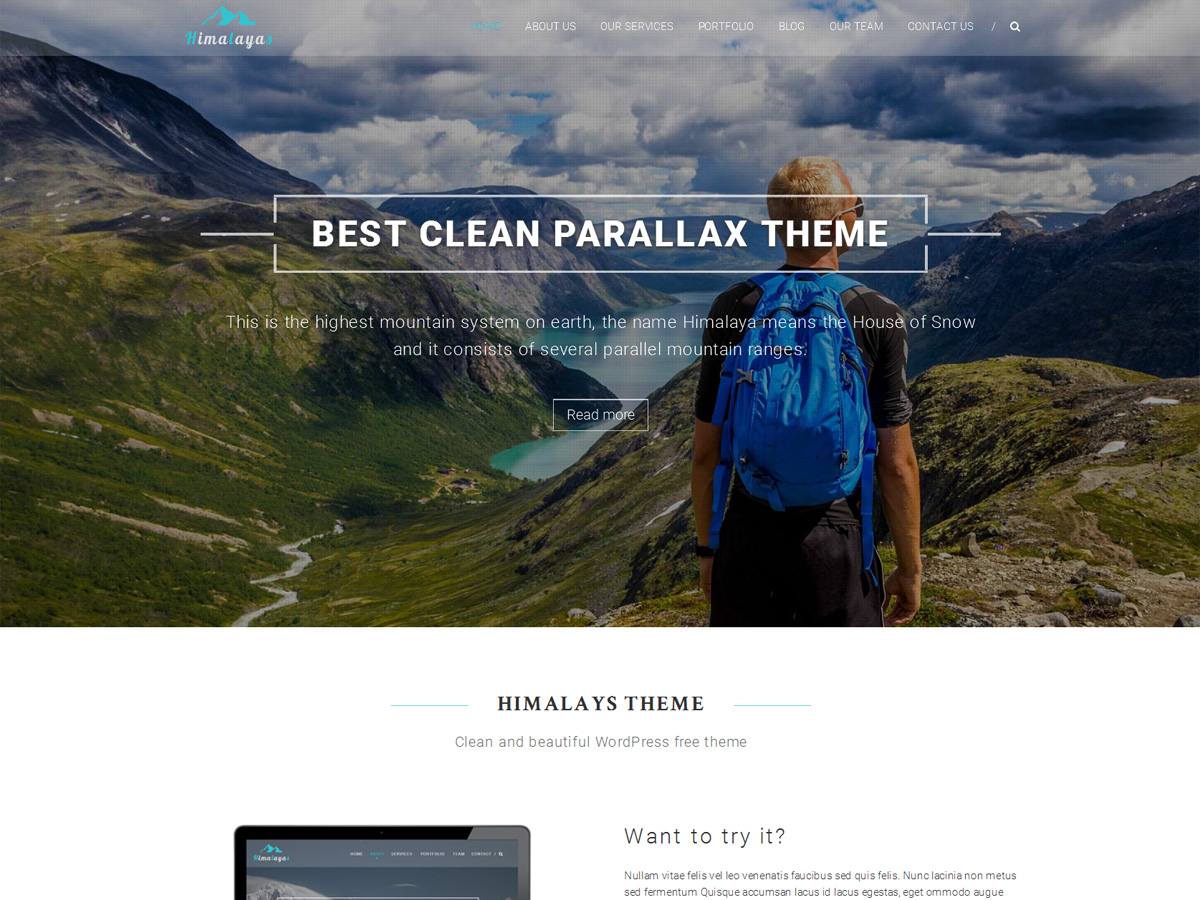 Top 30+ Best Parallax WordPress Themes [sigma_current_year] 10