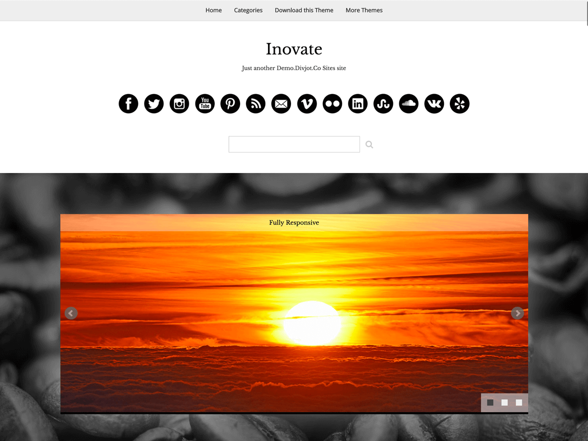 Inovate screenshot