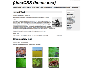 JustCSS