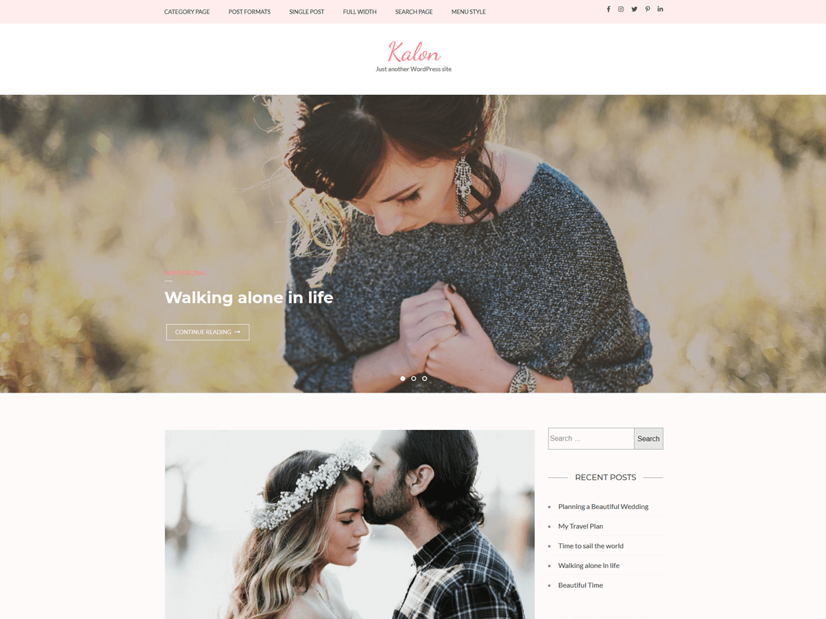 17+ Best Free Nature Inspired WordPress Themes [sigma_current_year] 10