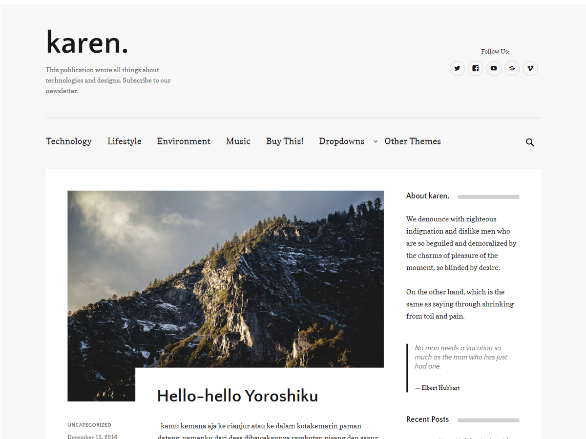 Top 30+ Best WordPress Themes for Writers in 2019 4