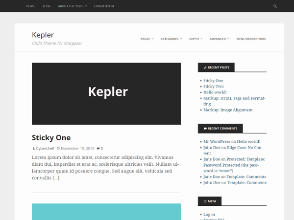 Kepler screenshot